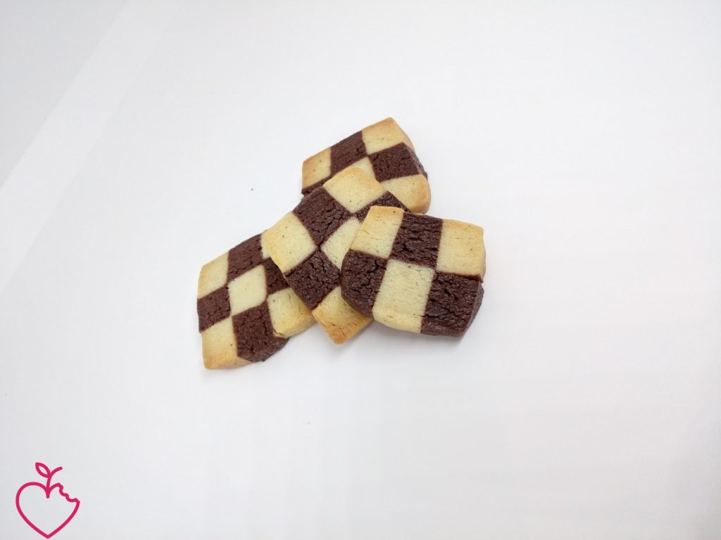 Variazioni di sablè ciocco e vaniglia