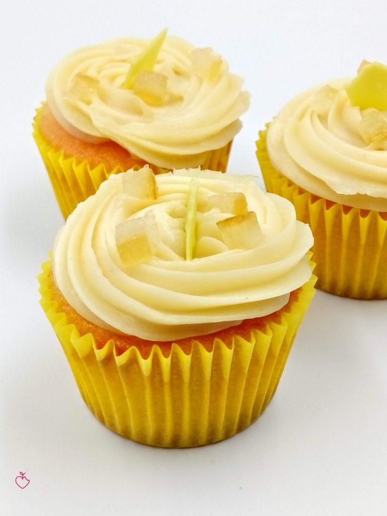 Cupcake mandorla limone e banana